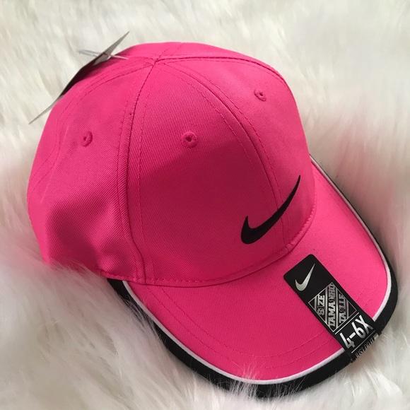 9012c8a519a NWT Kid s 4-6x Pink Nike Cap 🧢 Hat